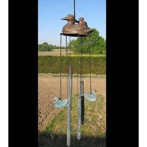 Eliassen Wind chimes bronze tubes with ducks