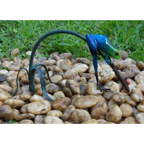 Eliassen Bild-Bronzefliege auf Zweig