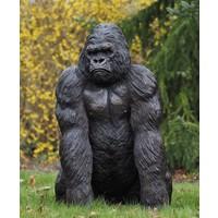 Beeld brons gorilla