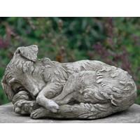 Tuinbeeld Collie puppy