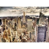 Foto Malerei auf Leinwand 114x80cm Skyline