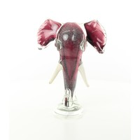 Olifanten kop glas
