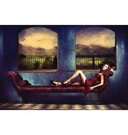 Eliassen Foto auf Glasmalerei Entspannende Frau
