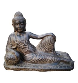 Eliassen Buddha image relax in 3 sizes