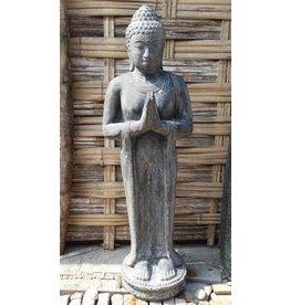 Eliassen Buddha Bild beim Gruß in 5 Größen
