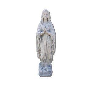 Maria-Statue mit gefalteten Händen hoch