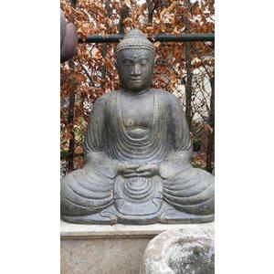 Eliassen Boeddha beeld Japans in lotus zit in 3 maten