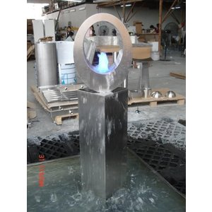 Eliassen Water feature stainless steel Arto