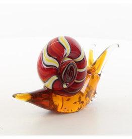 Muranostijl glazen beeld slak