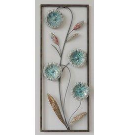 Eliassen Wanddekoration Blumen 2 28x73cm
