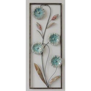 Eliassen Wall decoration Flowers 2 28x73cm