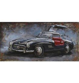 Eliassen Metal painting Mercedes1 120x60cm