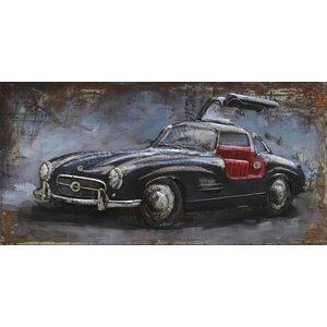 Eliassen Metallmalerei Mercedes1 120x60cm