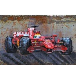 Eliassen Metallmalerei Formule1 120x80cm