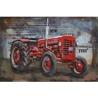 Metal 3d painting Farmall 120x80cm
