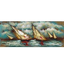 Eliassen 3D-Gemälde Sturm 60x150cm