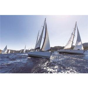 Eliassen Glasschilderij Sailing 80x120cm