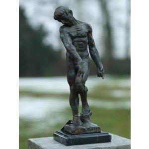 Eliassen Bronze Adam of Rodin 45 cm