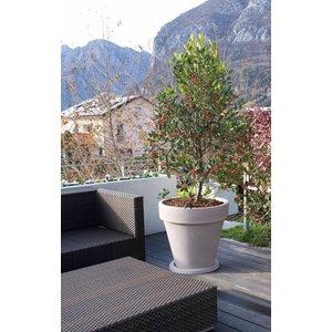 Kunststof plantenpot Vaso Tondo 50cm in 3 kleuren