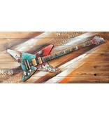 Eliassen 3d schilderij hout 64x130cm Rock