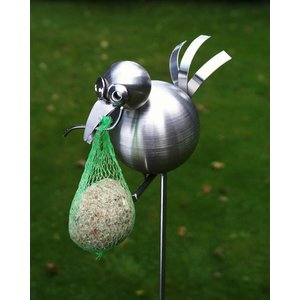 Tuinsteker Stainless Steel Bird with hook