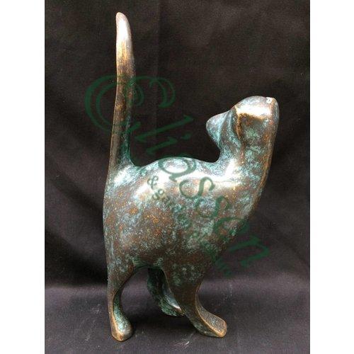 Eliassen Bronzen kat modern