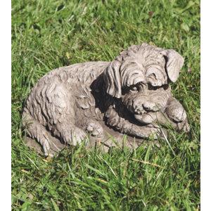 Tuinbeeld hond Bastaard