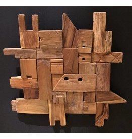 Eliassen Wooden Wall Panel Blocks 70