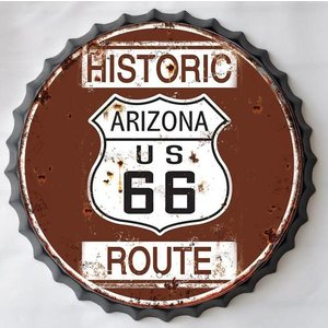 Wall decoration beer cap Historic