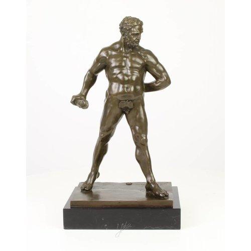 Bronzen beeld Hercules