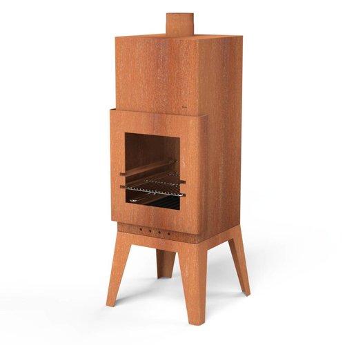 Adezz Producten Garden fireplace Bardi square Burni Adezz