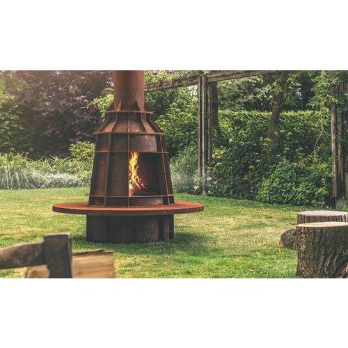 Adezz Producten Outdoor fireplace Form Adezz