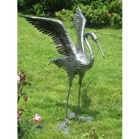 Heron with spread wings exclusive