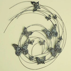 Eliassen Muurdecoratie 3D Butterfly 98cm