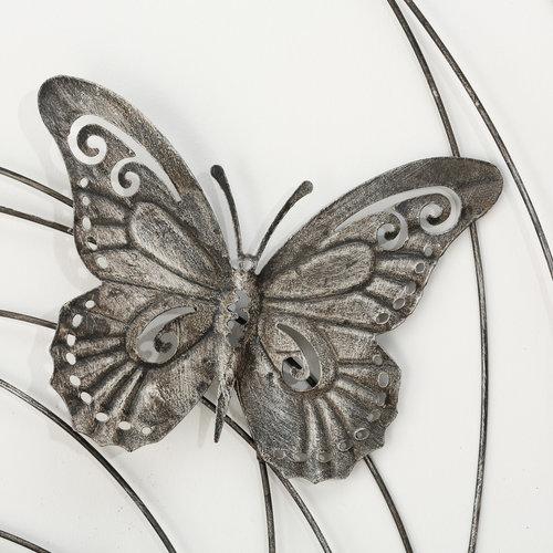 Eliassen 3D Muurdecoratie VLINDERS 98cm