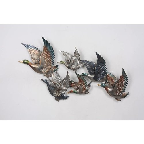 3D wall decoration Geese metal