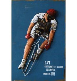 Eliassen 3D painting 90x60cm Cycling poster