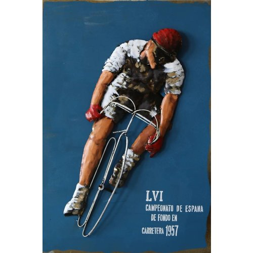 Eliassen 3D painting 90x60cm Cycling poster