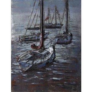 Eliassen 3D painting 75x100cm Sailboats