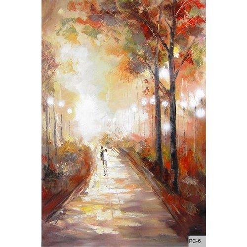 Eliassen Oil painting autumn evening 124x84cm