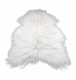 Sheepskin Icelandic white