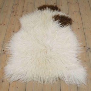 Lammfell isländisches braunes Fell