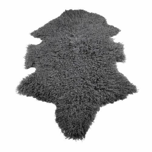 Schaffell tibetisch grau