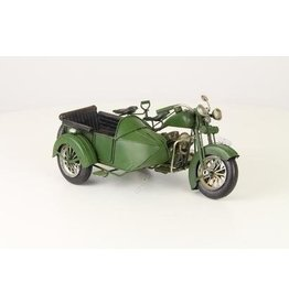 Eliassen Miniature model Motor with sidecar