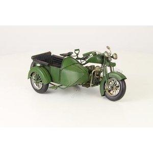 Eliassen Miniatuurmodel Motor met zijspan