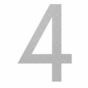 Adezz Producten Hausnummern und Buchstaben RVS Adezz