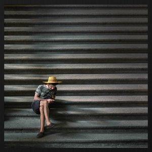 Wandkraft Forex Malerei Auf der Treppe 74x74cm