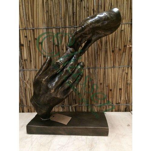 Bronzen handen
