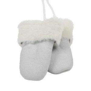 Baby mittens White
