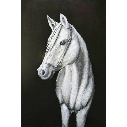 Eliassen 3D schilderij metaal 80x120cm Paard